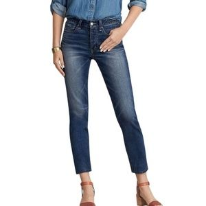 American Eagle Button Fly Vintage Hi-Rise Mom Jean
